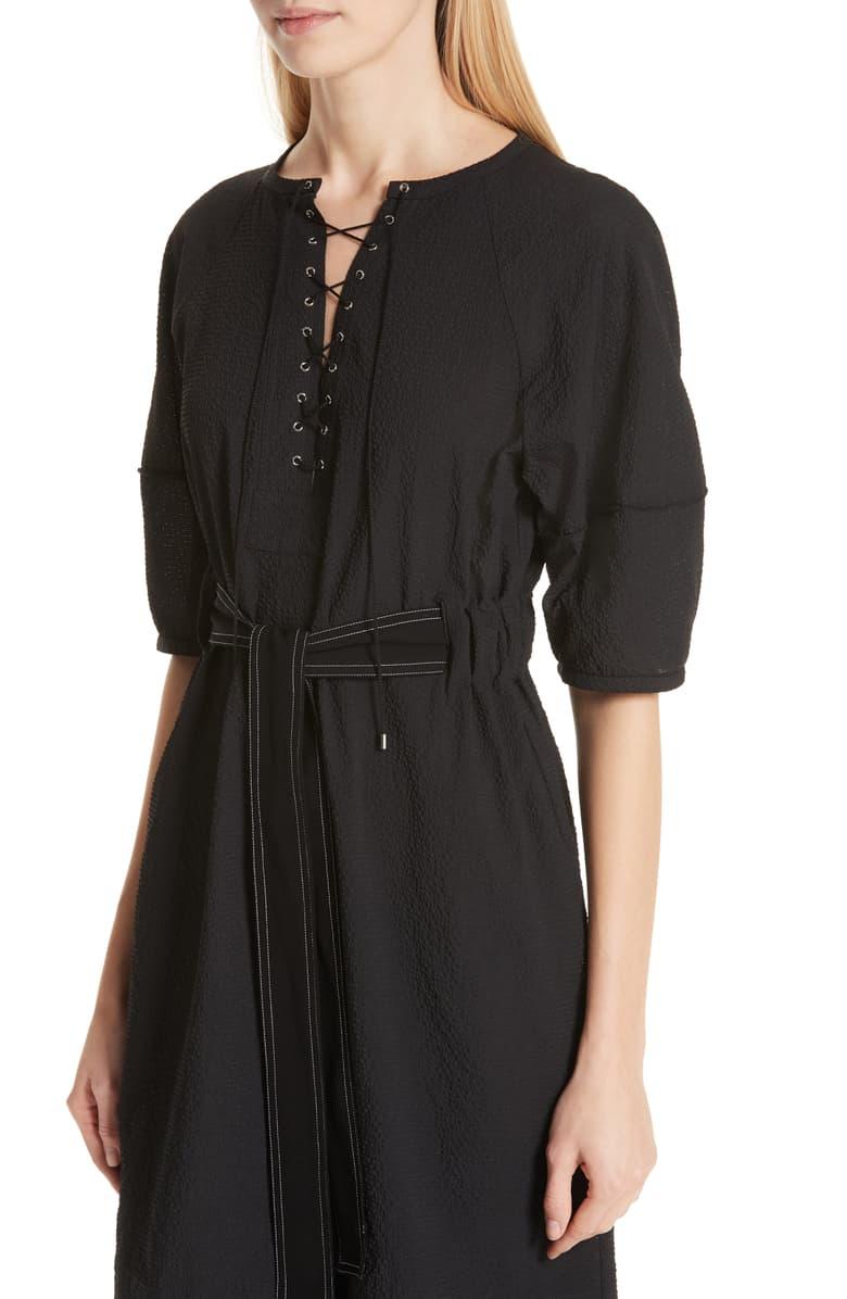 Black designer tunic.