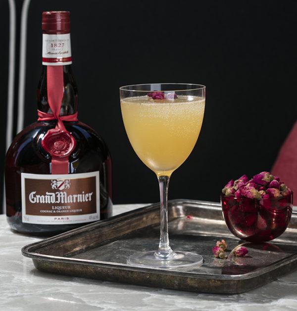 Grand Marnier Cognac Brandy coctail