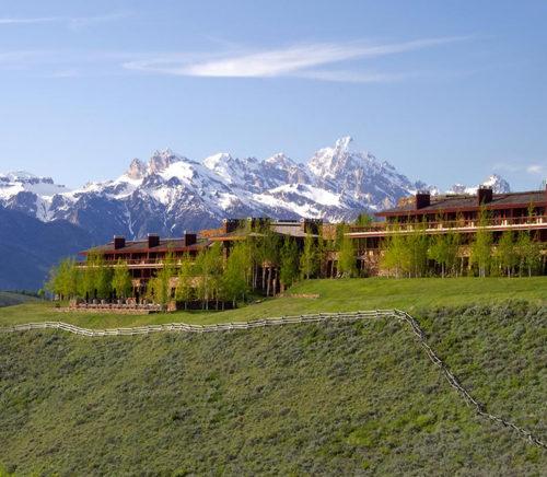 Amangani hotel Jackson Hole