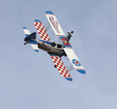 Aero Super Basics Wing Walking England