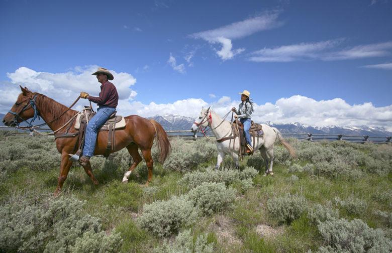 Horseback riding Amangani Hotel