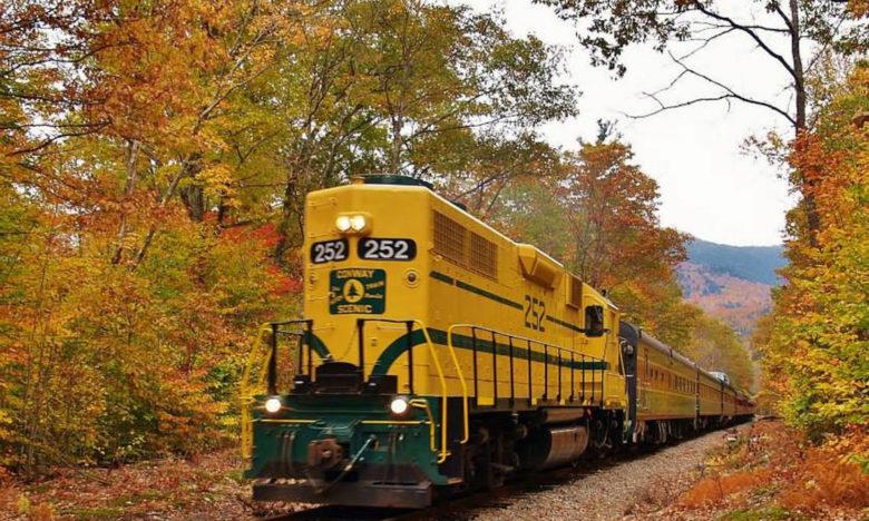 New England leaf peeping by train