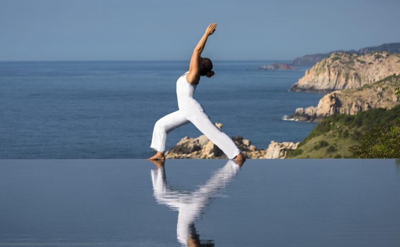 Amanoi, Vietnam - Yoga at Cliff Pool