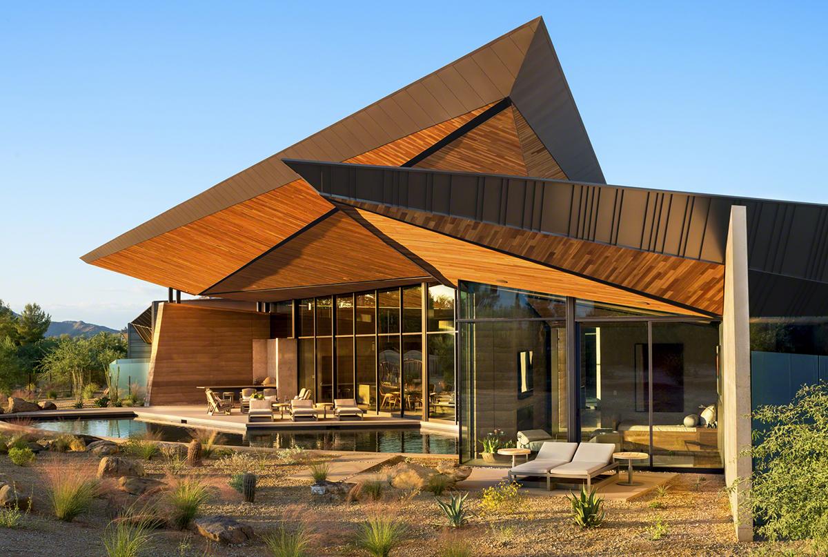 Luxury Modern Home Desert Star Construction