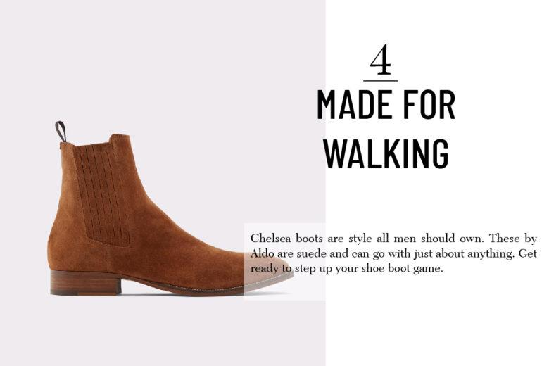 Aldo chelsea boots for men