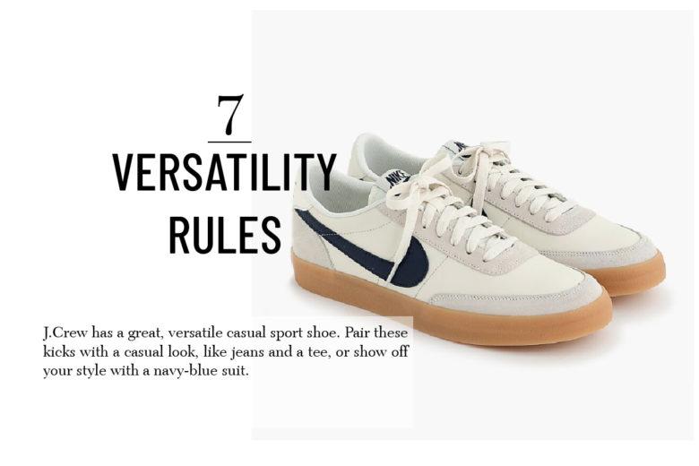 J Crew sport shoe men's gift