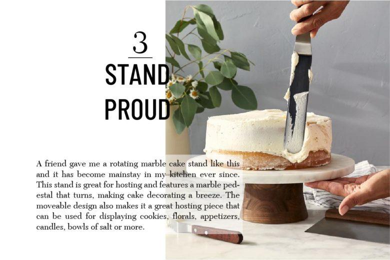 JK Adams Rotating Cake Stand