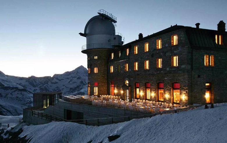 Kulmhotel Gornergrat hotel for stargazing