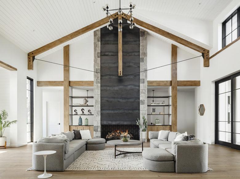 Minimal farmhouse desing by Drewtt Works