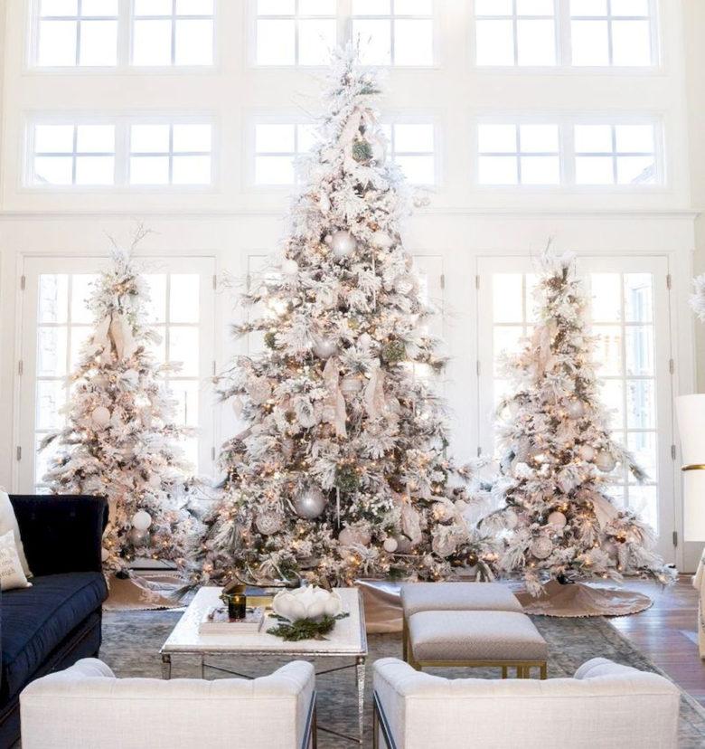Multiple elegant Christmas tree ideas and decoration