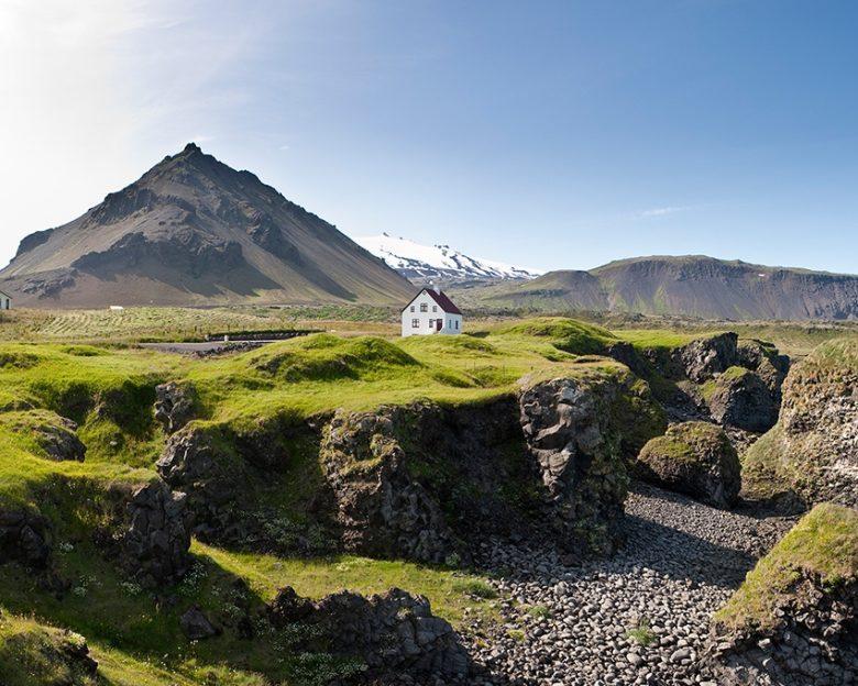 Snaefellsnes Peninsula best scenery in Iceland