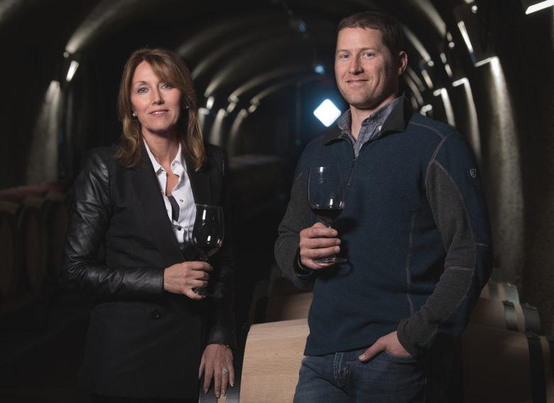 Viader Winery vineyards Napa Valley