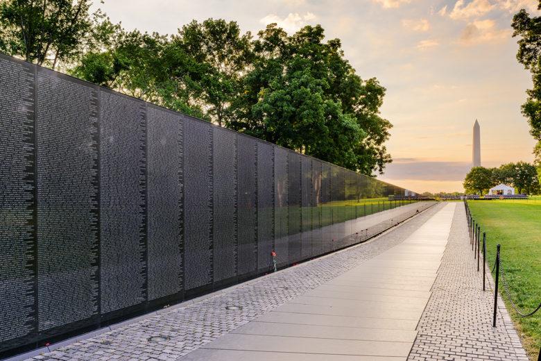 Vietnam Memorial Washington DC