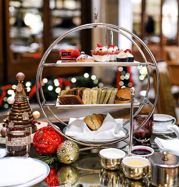 Christmas Tea at Palm Court New York