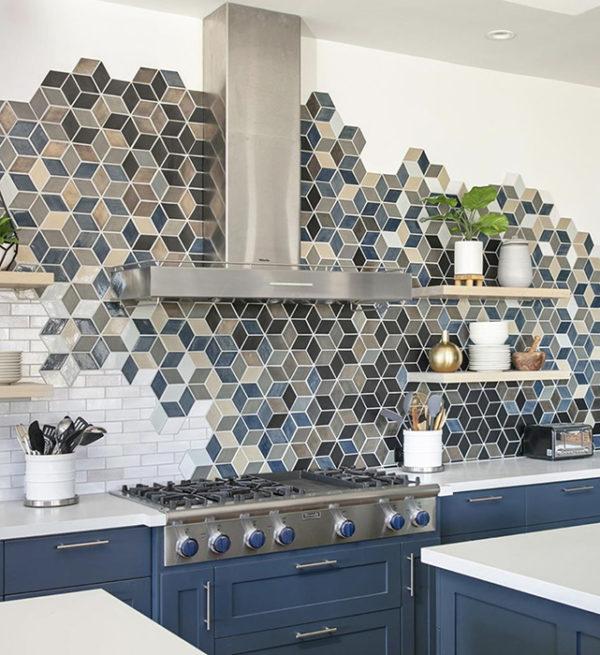 Handmade ceramic tiles by Mercury Mosaics