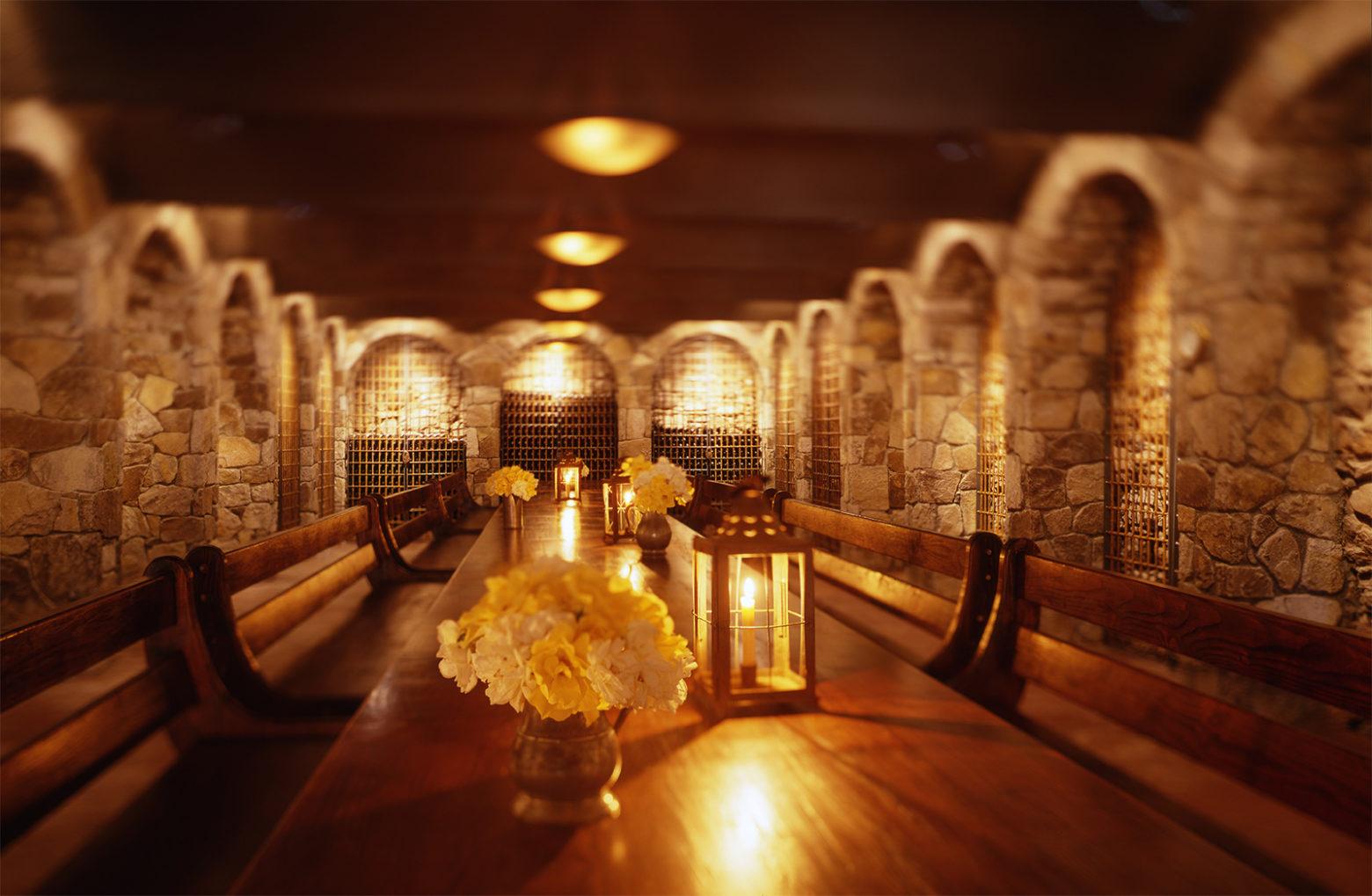 Palmaz Vineyards tasting room