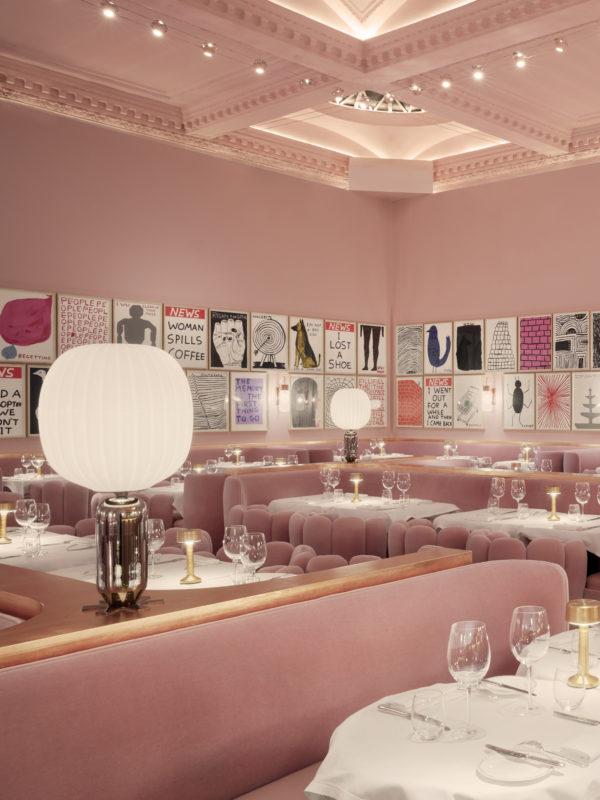 Sketch Gallery high tea in London