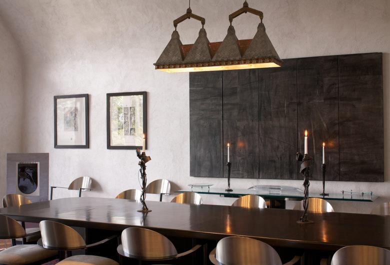 Tasting room at Palmaz Vineyards