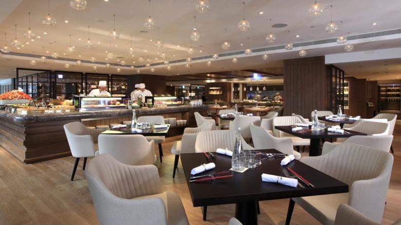 Cafe at Grand Hyatt tea place