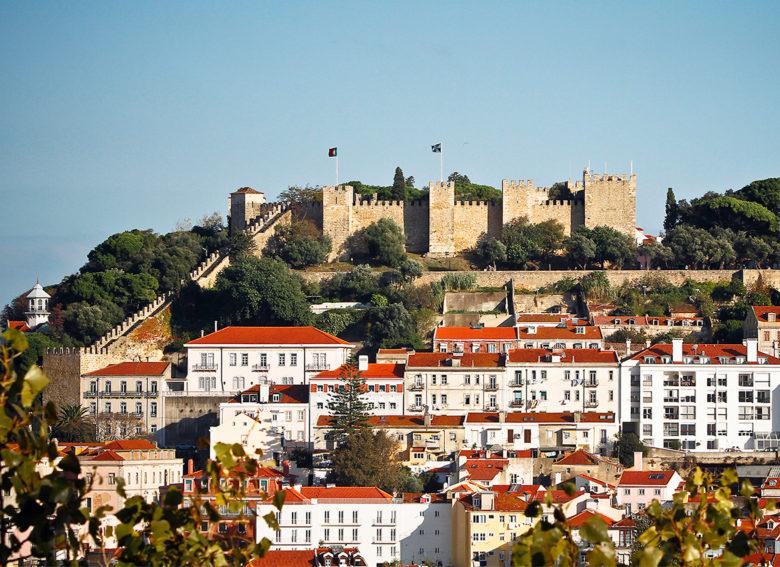 Castle-São-Jorge Lisbon Portugal