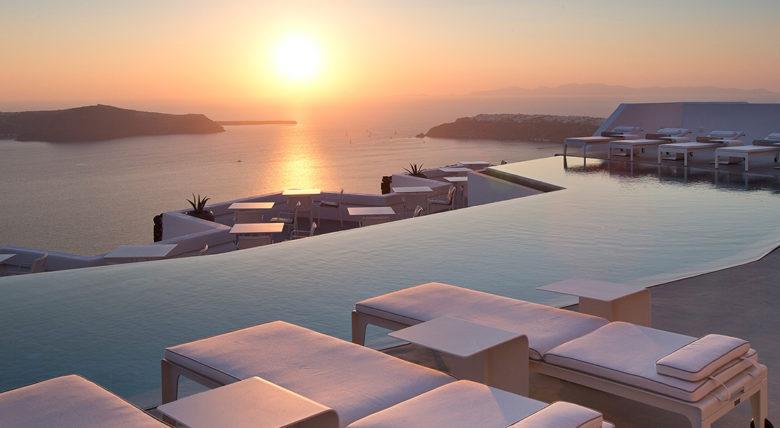 Grace Hotel Santorini Greece infinity pool