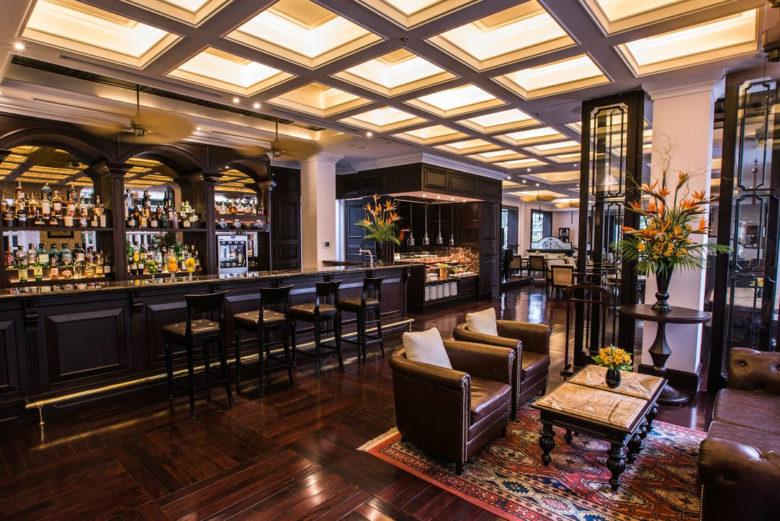 Hotel Metropole Hanoi tea place