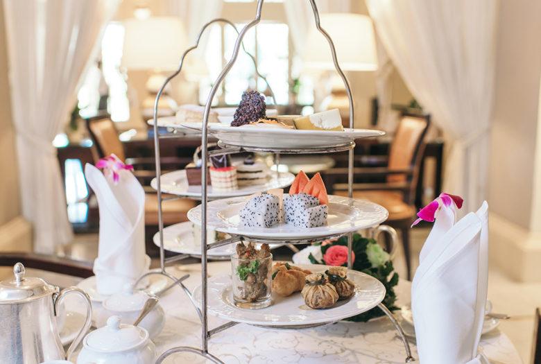 Raffles Hotel Le Royal tea place asia