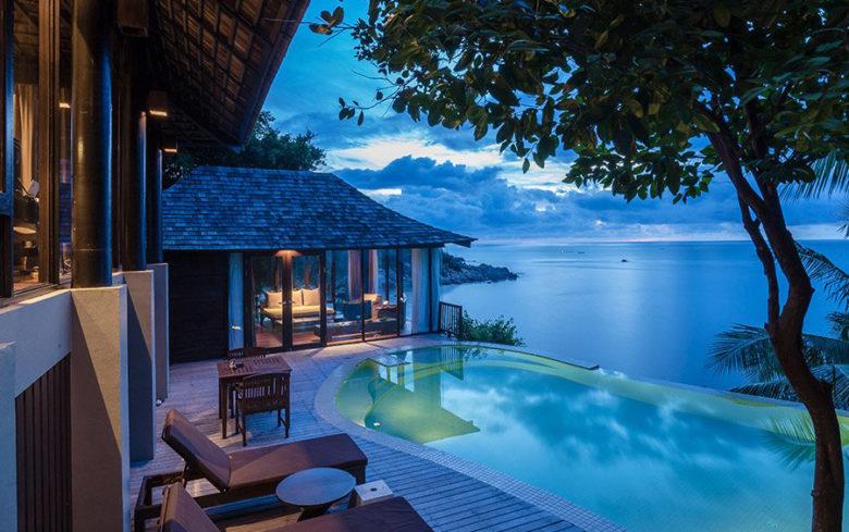 Silvadee Resort Tailand infinity pool