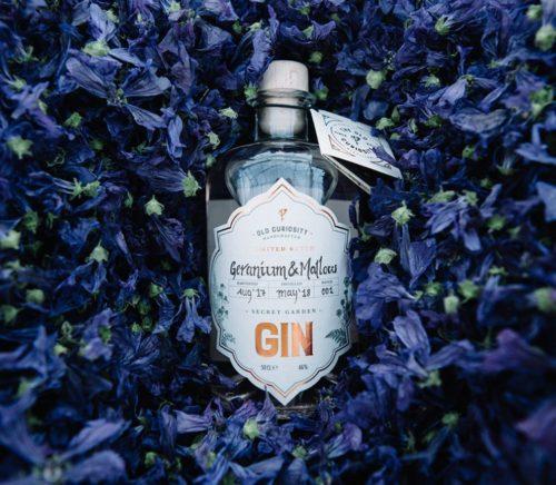 Scottish craft gin brand Old Curiosity