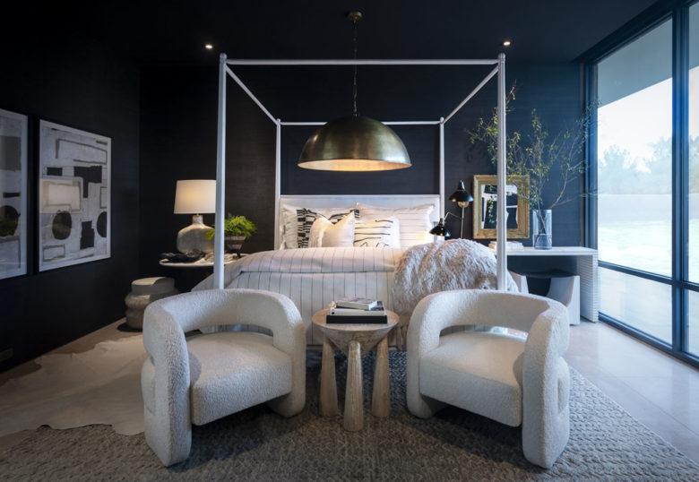 ICONIC HAUS romantic modern bedroom