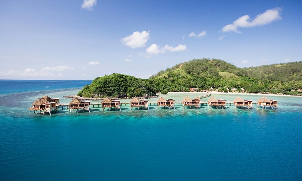 Likuliku on the water resort travel in Fiji