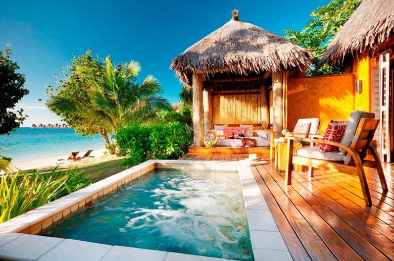 beachfront fiji resort travel