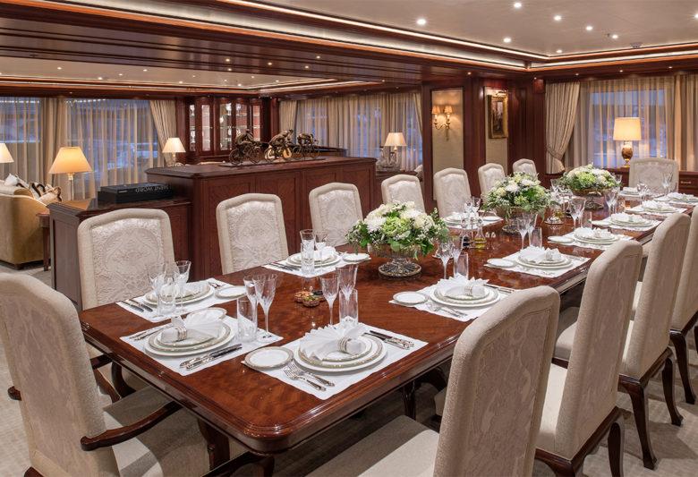 best yacht interior design