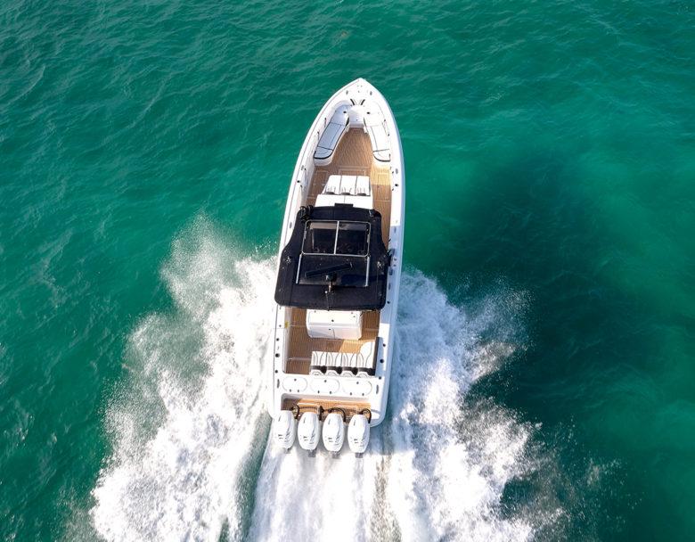 luxury high end modern yacht design