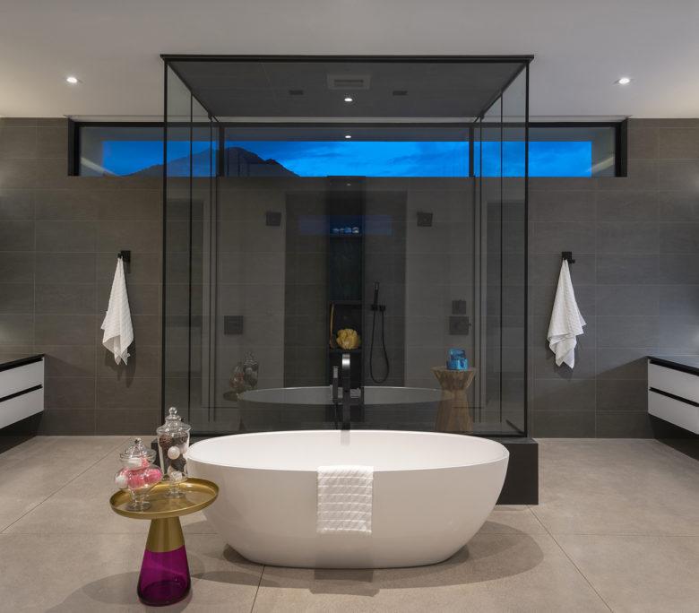 master bath in ICONIC HAUS