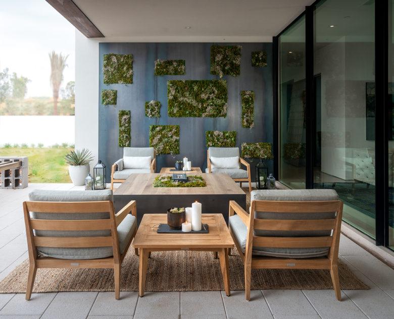 master patio in ICONIC HAUS
