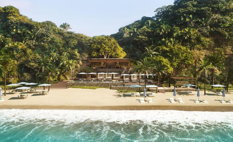 Beach Club at Hotel Mandarina in Mexico