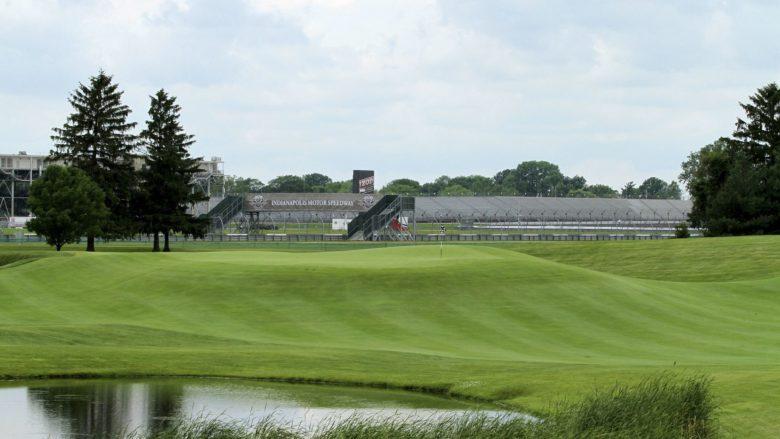 Brickyard Crossing Indiana best golf hole