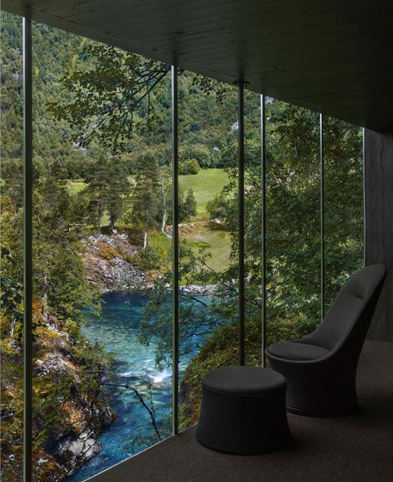 Juvet best landscape hotel in Norway