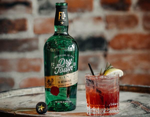 Old Elk Distillery's brand Dry Town Gin