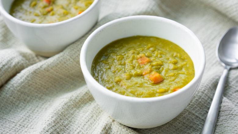 best appetizer recipe for split pea soup