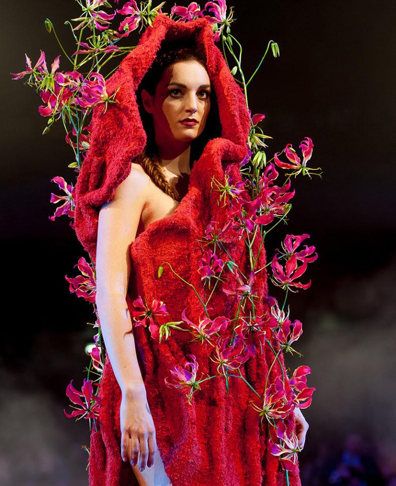 runway meets floral in luxury floral design