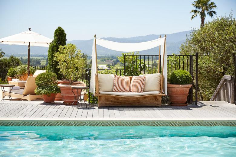 Auberge best resort pool in the US