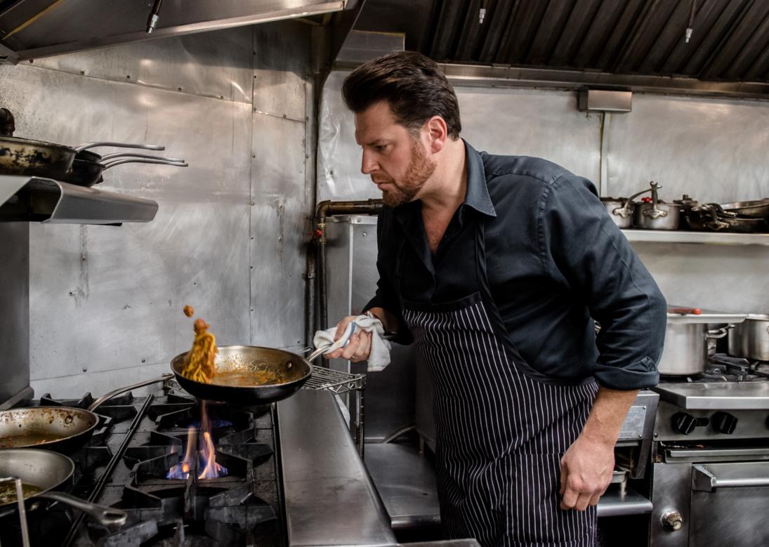 Foot Network Celebrity Chef Scott Conant
