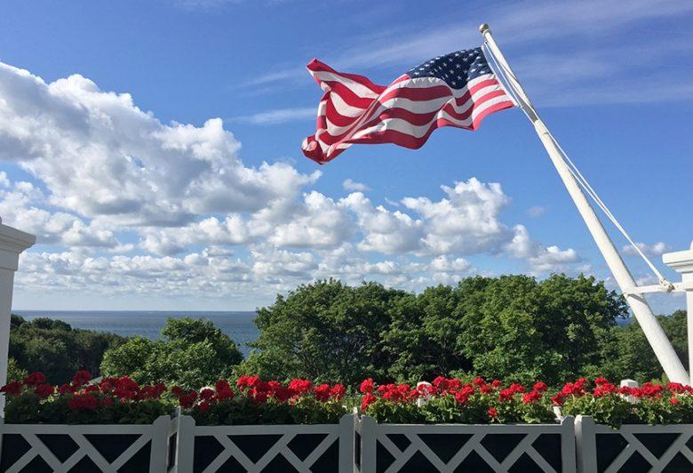 Fourth of July at the Grand Hotel at Mackinac Island