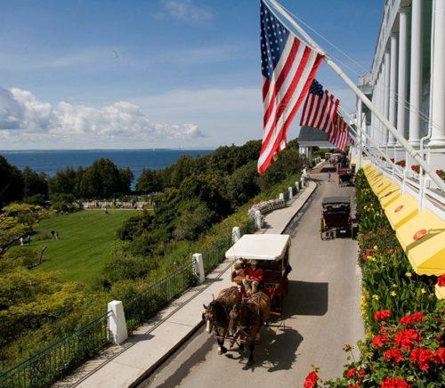 Summer at the Grand Hotel Mackinac Island Michigan