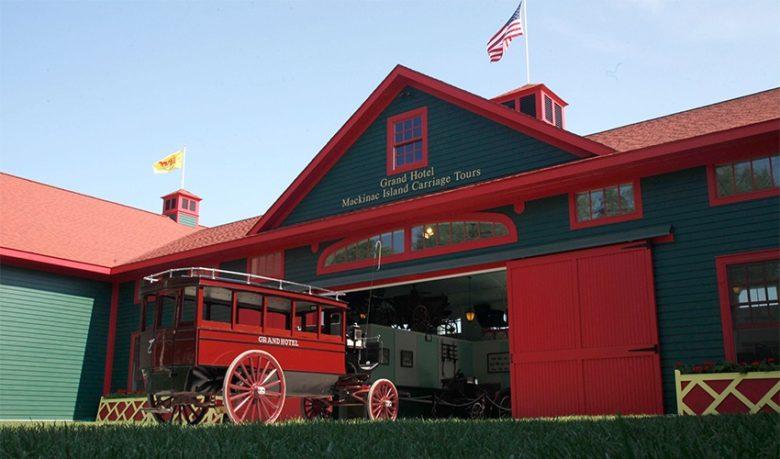 The Grand Hotel Mackinac Island Michigan carriage house