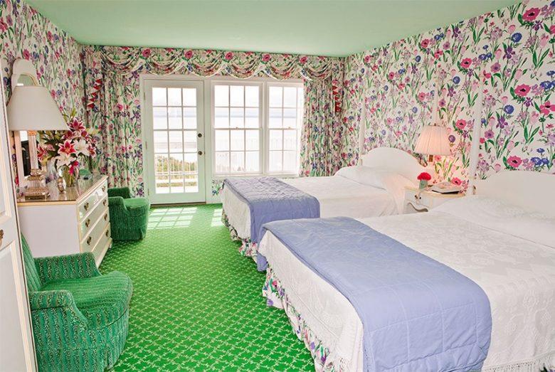 Victorian rooms at the Grand Hotel Mackinac Island Michigan