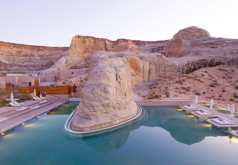 best pool resorts in US at Amangiri