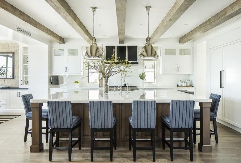 open concpet kitchen in Boardwalk Beach hosue